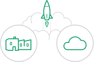 Deploy on premises or in the cloud