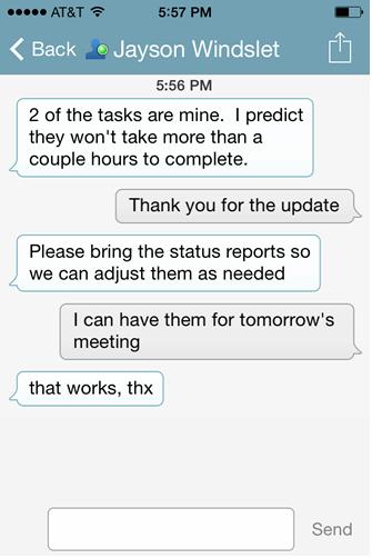 Secure Enterprise Instant Messaging