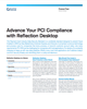 Advance Your PCI Compliance with Reflection Desktop Flyer