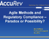Agile Methods and Regulatory Compliance