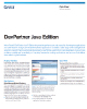 DevPartner Java Edition Data Sheet