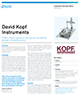 David Kopf Instruments Success Story