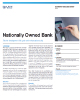 Nationally Owned Bank Success Story