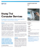Krung Thai Computer Services Success Story