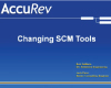 Changing SCM Tools