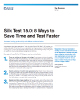Silk Test 15.0: 8 Ways To Save Time and Test Faster