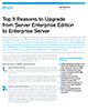 Top 5 Reasons to Upgrade from Server Enterprise Edition to Enterprise Server
