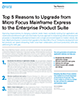 Top Five Reasons to Upgrade from Micro Focus Mainframe Express to the Enterprise Product Suite