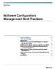 Software Configuration Management Best Practices White Paper