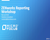 ZENworks Reporting Workshop