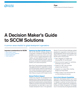 A Decision Maker's Guide to SCCM Solutions