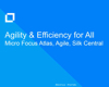 Atlas, StarTeam Agile, and Silk Central: Efficiency and Agility for All