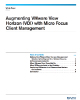 Augmenting VMware View Horizon VDI with Micro Focus Client Management