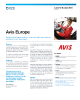 Avis Europe Success Story