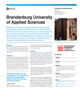 Brandenburg University Customer Success Story
