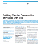 Building Effective Communities of Practice with Vibe Flyer