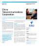 China Telecommunications Corporation Success Story