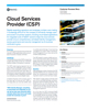 Cloud Services Provider (CSP) Success Story
