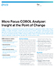 Micro Focus COBOL Analyzer Insight at the point of change