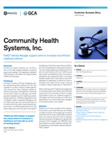 Community Health Systems, Inc.