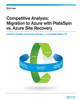 Competitive Analysis: Migration to Azure with PlateSpin vs. Azure Site Recovery White Paper