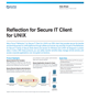 Reflection for Secure IT Client for Windows Data Sheet