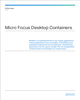 Micro Focus Desktop Containers