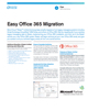 Easy Office 365 Migration