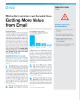 Effective Communication, Lower Ownership Costs Getting More Value from Email
