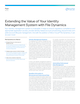 Extending the Value of Your Identity Management System with File Dynamics