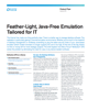 Feather-Light, Java-Free Emulation Tailored for IT Flyer