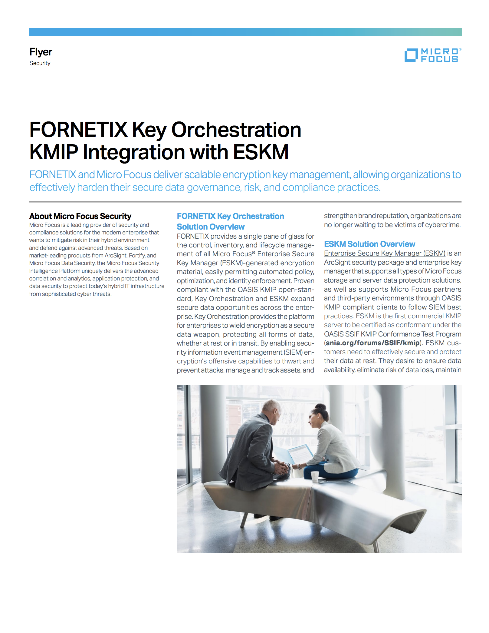 FORNETIX Key Orchestration KMIP Integration with ESKM