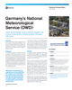 Germanys National Meteorological Service - DWD- Success Story