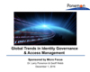Global Trends in Identity Governance & Access Management Video