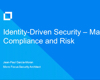 Identity-driven security—managing compliance and risk