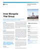 Inner Mongolia Yitai Group Success Story