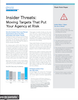 Insider Threats Moving Targets that put your Agency at Risk
