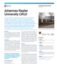 Johannes Kepler University Success Story