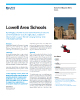 Lowell Area Schools Success Story