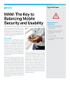 MAM – The key to balancing mobile security and usability