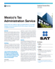 Mexico's Tax Administration Service Success Story