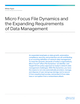 Micro Focus File Dynamics and the Expanding Requirements of Data Management