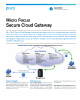 Micro Focus Secure Cloud Gateway