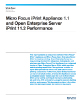 Micro Focus iPrint Appliance 1.1 and Open Enterprise Server Micro Focus iPrint 11.2 Performance White Paper