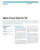 Micro Focus Start for Filr Flyer