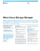 Micro Focus Storage Manager