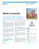 Millikin University Success Story