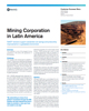 Mining corporation in Latin America