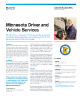 Minnesota Driver and Vehicle Services Success Story