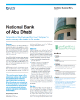 National Bank of Abu Dhabi Success Story